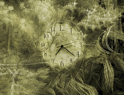 Time Piece II Print by Betsy C Knapp