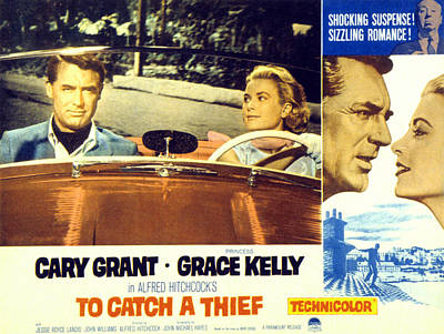 To Catch A Thief, Poster Art, Cary Print by Everett