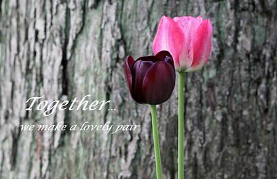 Together Print by Deborah  Crew-Johnson
