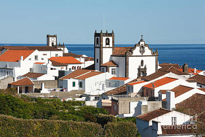 Town By The Sea Print by Gaspar Avila