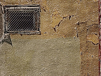 Grate Photograph - Urban Window by Lenore Senior