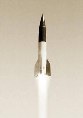 V2 Rocket Photograph - V-2 Rocket by Detlev Van Ravenswaay