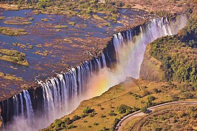 Victoria Falls Print by Rob Verhoeven & Alessandra Magni