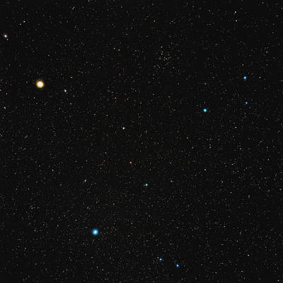 Virgo Constellation Print by Eckhard Slawik