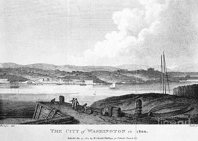 Washington, D.c., 1800 Print by Granger