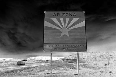 Welcome Sign Print by David Lee Thompson