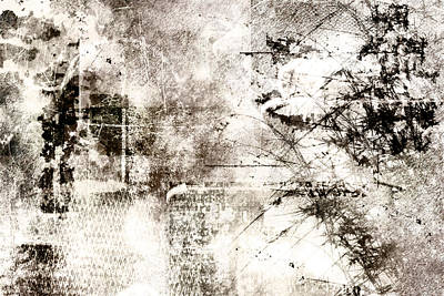 Scratch Painting - Whiteout by Christopher Gaston