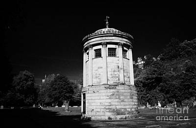William Huskisson Memorial In St James Cemetery Liverpool Merseyside England Uk  Print by Joe Fox