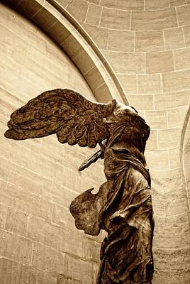Louve Photograph - Winged Victory by JAMART Photography
