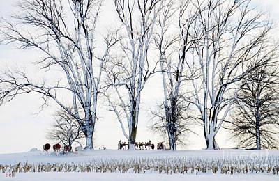 Winter Calm Print by Christine Belt