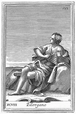 Xylophone, 1723 Print by Granger