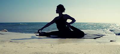 Mental Photograph - Yoga by Stelios Kleanthous