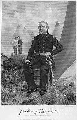 Zachary Taylor (1784-1850) Print by Granger