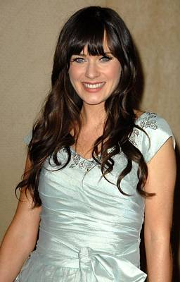 Zooey Deschanel Photograph - Zooey Deschanel In Attendance by Everett