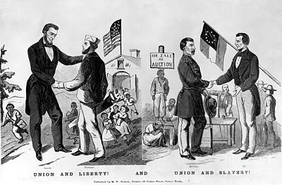 Presidential Campaign: 1864 Print by Granger