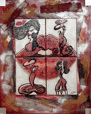 Untitled Original by Artista Elisabet