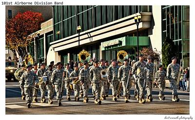 Marching Band Photograph - 101st Airborne Division Band by Sheri Bartoszek