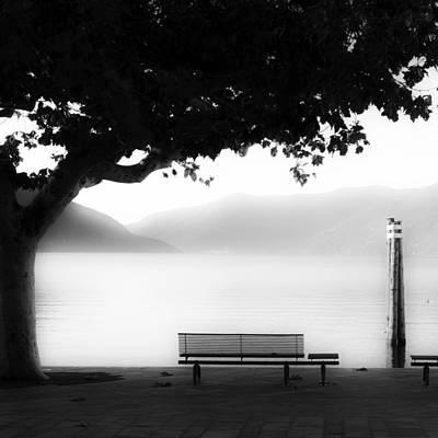 Plane Tree Photograph - Lake Maggiore by Joana Kruse
