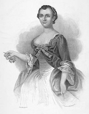 Martha Washington Print by Granger