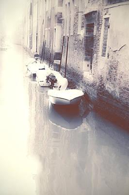 Boat Photograph - Venezia by Joana Kruse