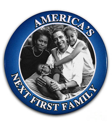 Obama Family Photograph - Presidential Campaign, 2008 by Granger