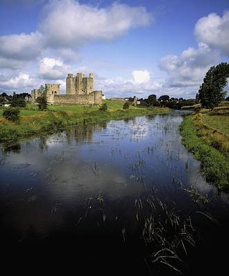 Safeguard Photograph - 12th Century Trim Castle, On The River by The Irish Image Collection