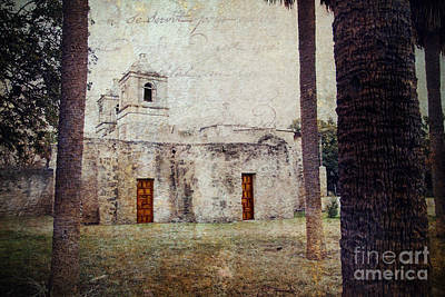 Mission Concepcion Print by Iris Greenwell