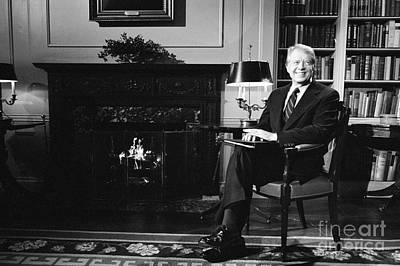 Whitehouse Photograph - Jimmy Carter (1924- ) by Granger