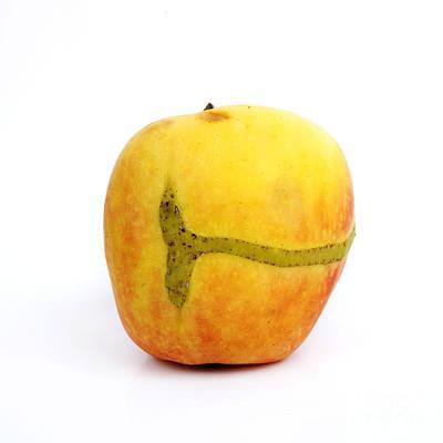 Indoor Photograph - Apple by Bernard Jaubert