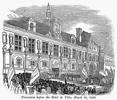 France: Revolution Of 1848 Print by Granger