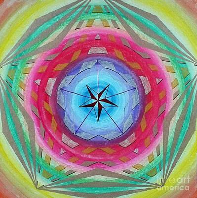 164. Mandala Print by Martin Zezula