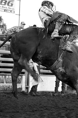 Cowgirl Photograph - Bull Rider by Rick Rowland