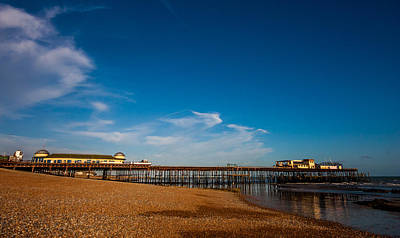 Hastings Pier Print by Dawn OConnor