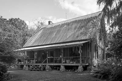 1850's Florida Cracker Farmhouse Print by Lynn Palmer