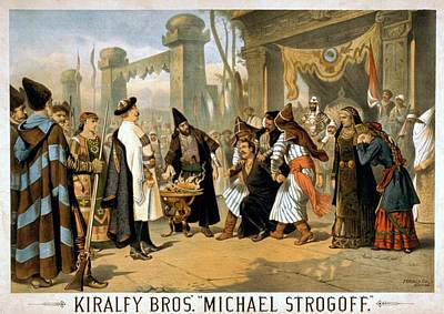 1882 Poster For Michael Storgoff The Print by Everett