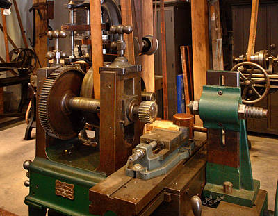 18th Century Machine Shop Print by Judi Quelland