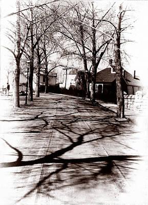 1900 Street Print by Marcin and Dawid Witukiewicz
