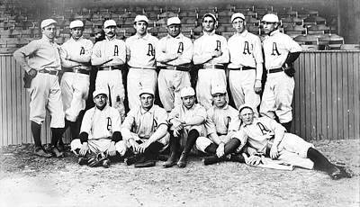 Shibe Park Photograph - 1902 Philadelphia Athletics by Bill Cannon