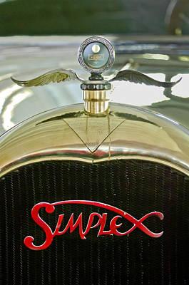 1916 Crane-simplex Model 5 Seven-passenger Touring Hood Ornament Print by Jill Reger