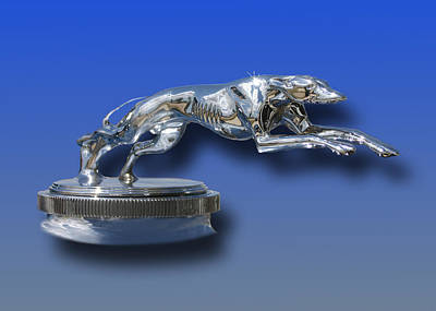 Mascot In Chrome Photograph - 1931 Lincoln K Mascot by Jack Pumphrey