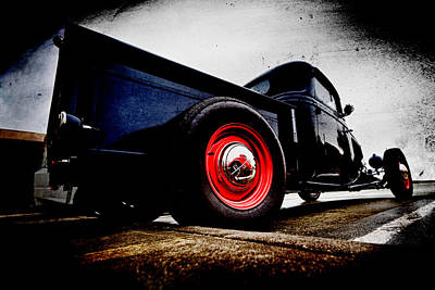 Phil Motography Clark Photograph - 1934 Ford Pickup by Phil 'motography' Clark