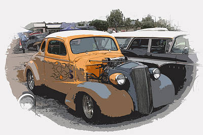 1937 Chevy Coupe Print by Steve McKinzie
