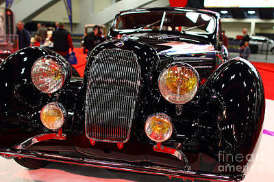 1938 Talbot Lago T150-c Speciale Teardrop Coupe . 7d9311 Print by Wingsdomain Art and Photography