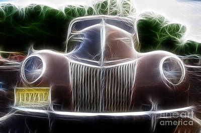 1939 Ford Deluxe Print by Paul Ward