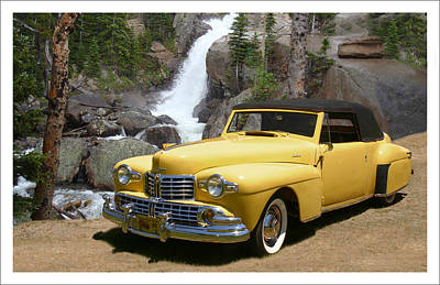 Recognize Photograph - 1946 Lincoln Continental Divide by Jack Pumphrey