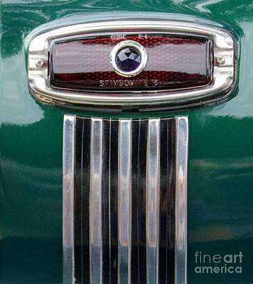 1948 Chevy Coupe Tail Light Print by Mary Deal