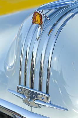 1948 Pontiac Chief Photograph - 1948 Pontiac Hood Ornament 3 by Jill Reger