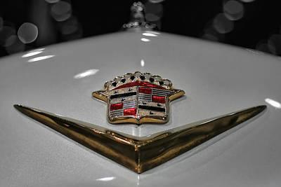 Lowrider Digital Art - 1949 Cadillac Hood Ornament by Gordon Dean II