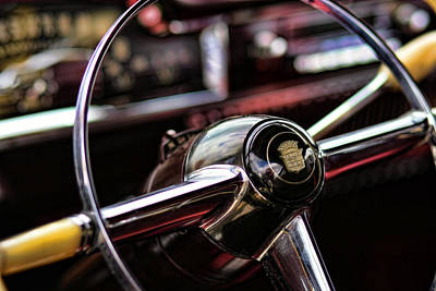 1949 Cadillac Steering Wheel Original by Gordon Dean II