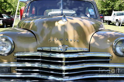1949 Plymouth Photograph - 1949 Plymouth Delux Sedan . 5d16205 by Wingsdomain Art and Photography